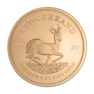 1 oz Krugerrand 2020 Gold Coin(Front)